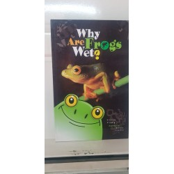 Why are frogs wet